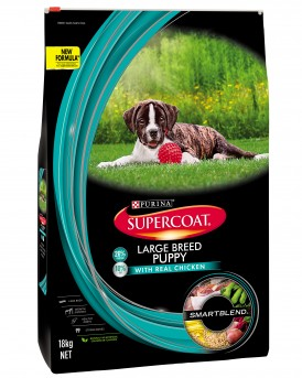 SUPERCOAT LARGE BREED PUPPY 18KG