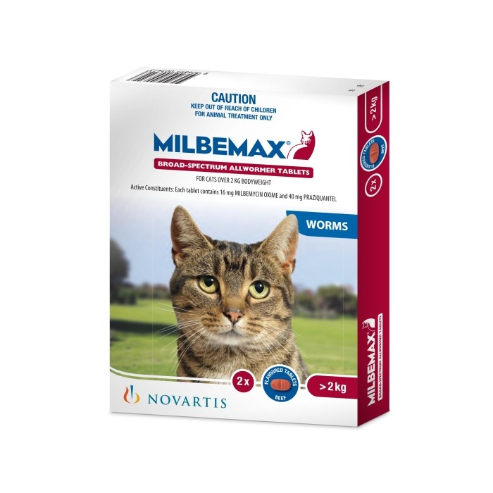 MILBEMAX CATS OVER 2KG
