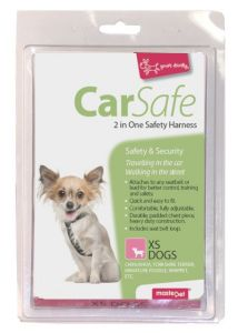 2 IN ONE SAFETY HARNESS XS DOG