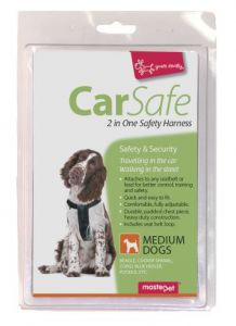 2 IN ONE SAFETY HARNESS MEDIUM DOG