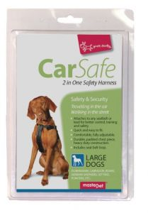 2 IN ONE SAFETY HARNESS LARGE DOG