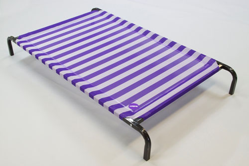 KAZOO DAY DREAM DOG BED CLASSIC PURPLE AND WHITE 