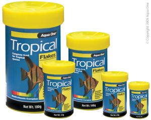 AQUA ONE TROPICAL FLAKES 100G