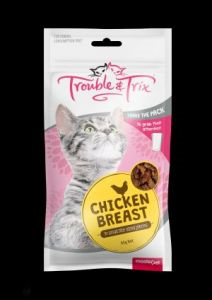 TROUBLE & TRIX CHICKEN BREAST 85G