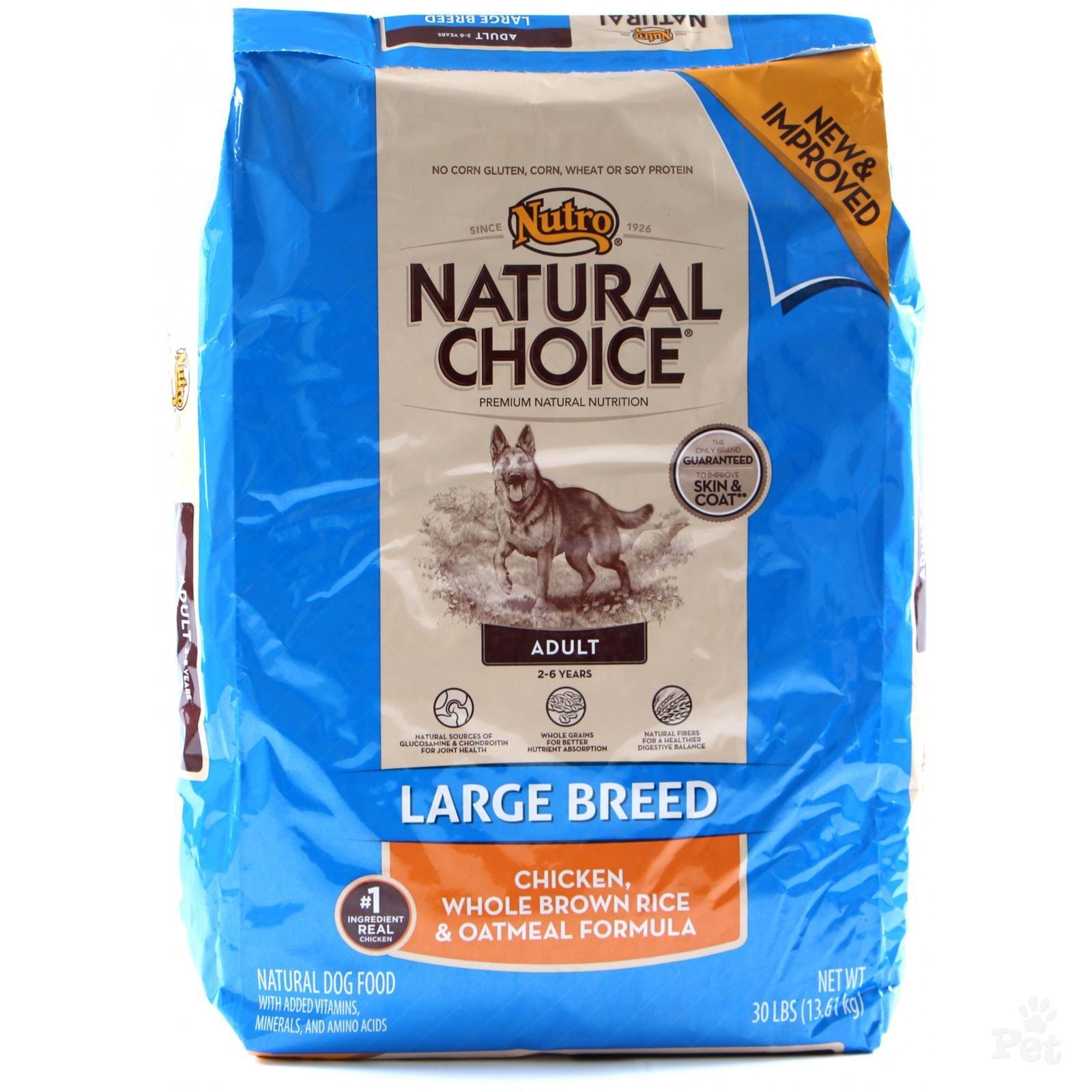 NUTRO DOG LARGE BREED 15KG