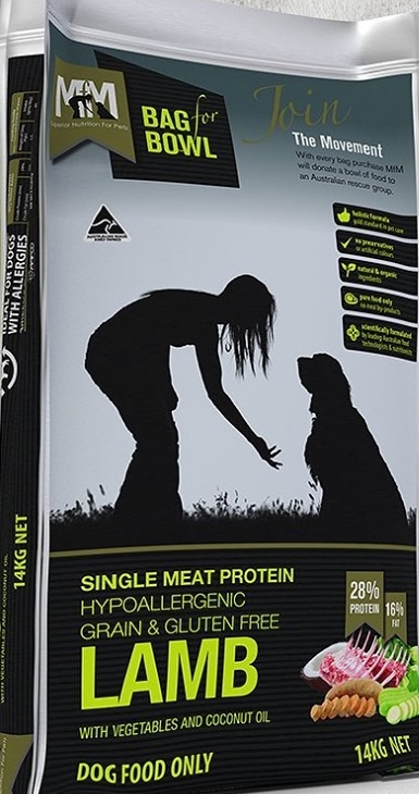 MEALS FOR MUTTS SINGLE PROTEIN GRAIN FREE LAMB 14KG
