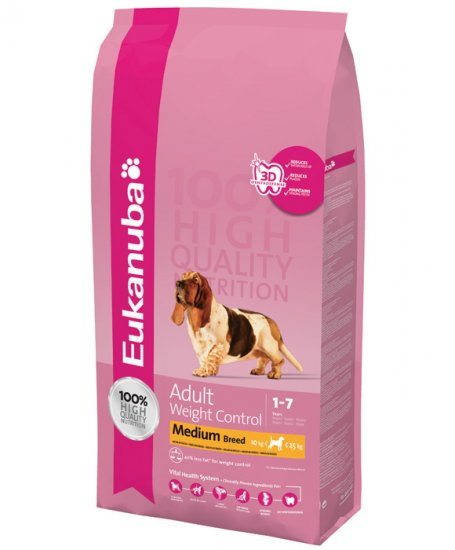 EUKANUBA DOG WEIGHT CONTROL 15KG