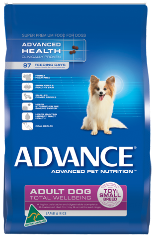 ADVANCE TOY SMALL LAMB & RICE 15KG
