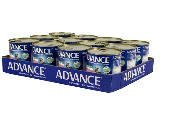 ADVANCE CHICKEN SALMON & RICE 700G X12