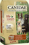 CANIDAE ALL LIFE STAGES ALL NATURAL DOG FOOD 19.9KG