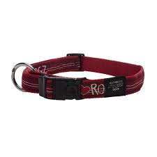 ARMED RESPONSE XL DOG COLLAR RED HEART