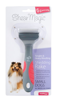 MASTERPET BRUSH SHEDDING RAKE MEDIUM