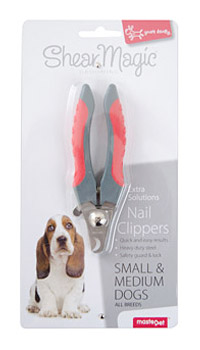 MASTERPET SHEAR MAGIC NAIL CLIPPERS SMALL & MEDIUM