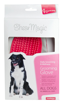 MASTERPET SHEAR MAGIC GROOMING GLOVE