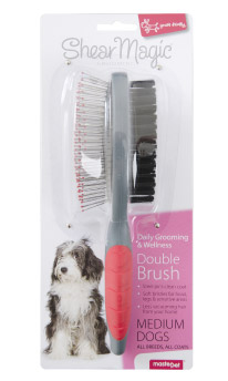 SHEAR MAGIC DOUBLE BRUSH MEDIUM