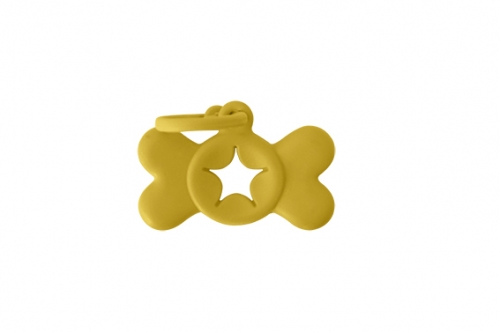 BON TON CLIP BAG HOLDER YELLOW