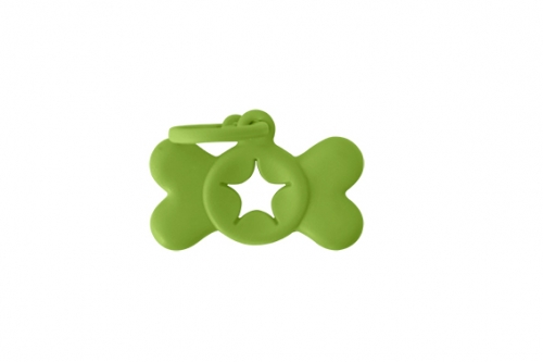 BON TON CLIP BAG HOLDER GREEN