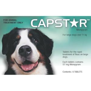 CAPSTAR 57KG LARGE DOGS