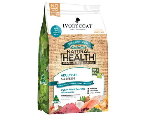 IVORY COAT CAT GRAIN FREE OCEAN FISH & SALMON 3KG