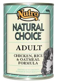 NUTRO DOG CHICKEN & RICE 400G