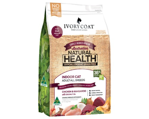 IVORY COAT CAT GRAIN FREE CHICKEN & KANGAROO 3KG