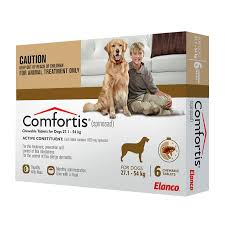 COMFORTIS CHEWABLE TABLETS FOR DOGS 27.1-54KG