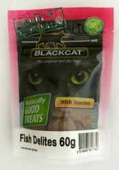 BLACKCAT FISH DELITES 60G