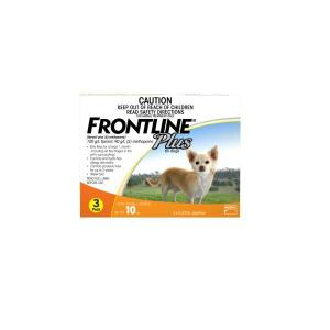 FRONTLINE PLUS SMALL DOG 3PACK