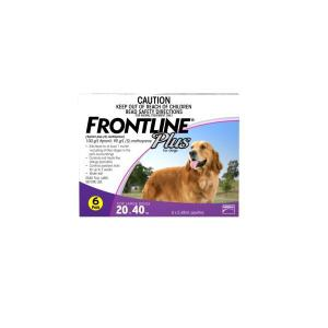 FRONTLINE PLUS LARGE DOG 6PACK