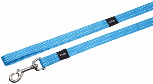 LUMBERJACK EXTRA LARGE DOG LEAD IN TURQUOISE