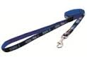 JELLYBEAN SMALL DOG LEAD INDIGO BONES