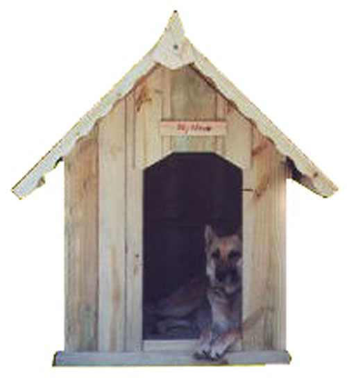 MY HOUSE EXTRA LARGE TREAT PINE KENNEL