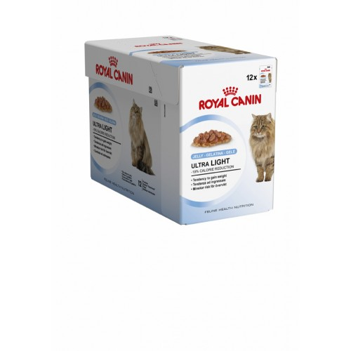 ROYAL CANIN ADULT ULTRA LIGHT IN JELLY 12 X 85G