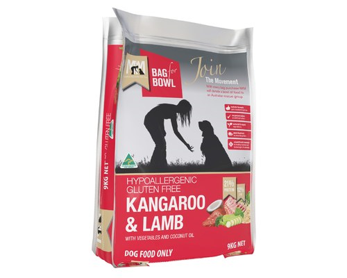 MEALS FOR MUTTS KANGAROO & LAMB 9KG