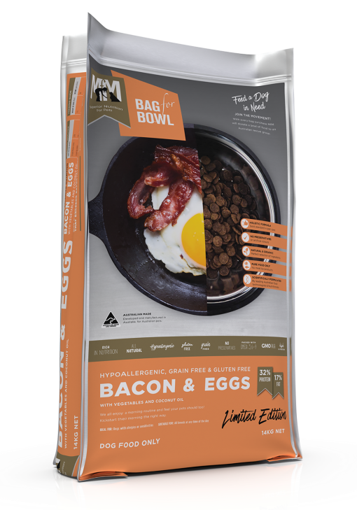 Meals for Mutts Bacon & Eggs Grain Free 14kg