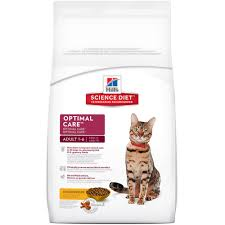 SCIENCE DIET CAT ADULT OPTIMAL CARE 2KG