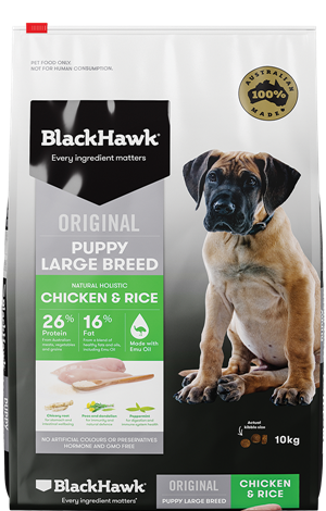 BLACK HAWK PUPPY LARGE BREED 20KG