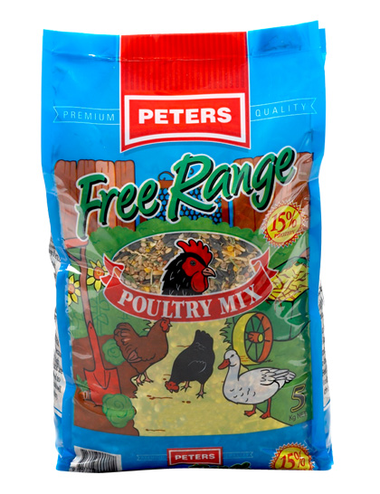 PETERS POULTRY MIX 5KG