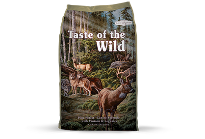 TASTE OF THE WILD PINE FOREST GRAIN FREE 13KG