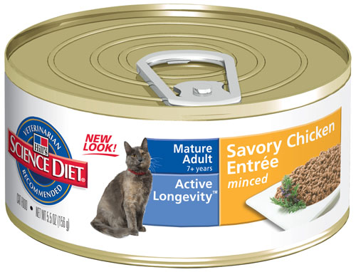 SCIENCE DIET CAT ACTIVE LONGEVITY 156G X24