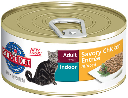 SCIENCE DIET CAT INDOOR 156G X 24