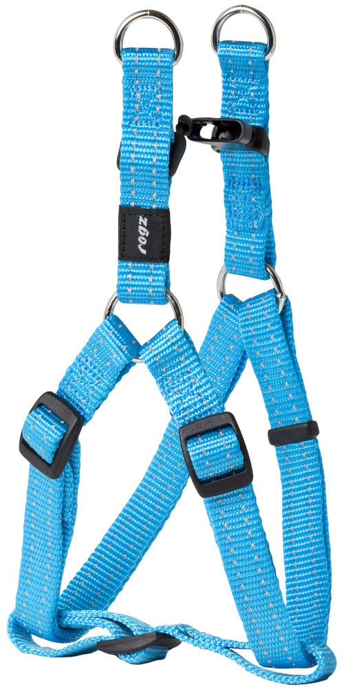 SNAKE MEDIUM  DOGSTEP IN HARNESS IN TURQUOISE
