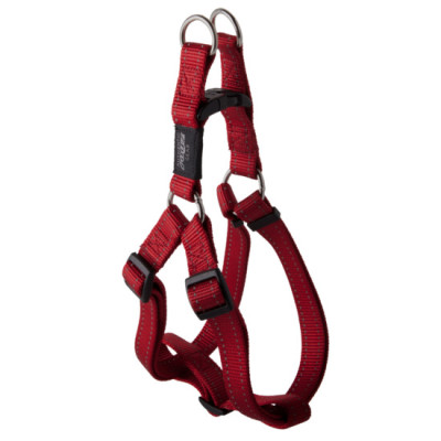 FANBELT STEP IN  HARNESS RED