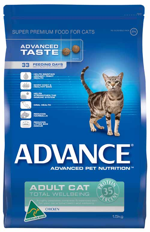 ADVANCE CAT TOTAL WELL BEING CHICKEN 1.5KG