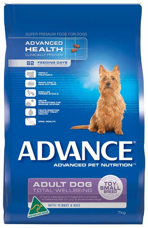 ADVANCE SMALL DOG TURKEY 7KG