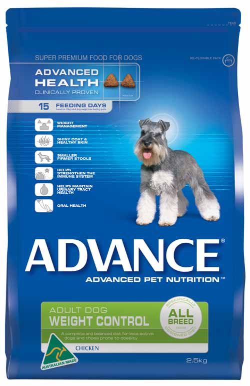 ADVANCE DOG WEIGHT 2.5KG