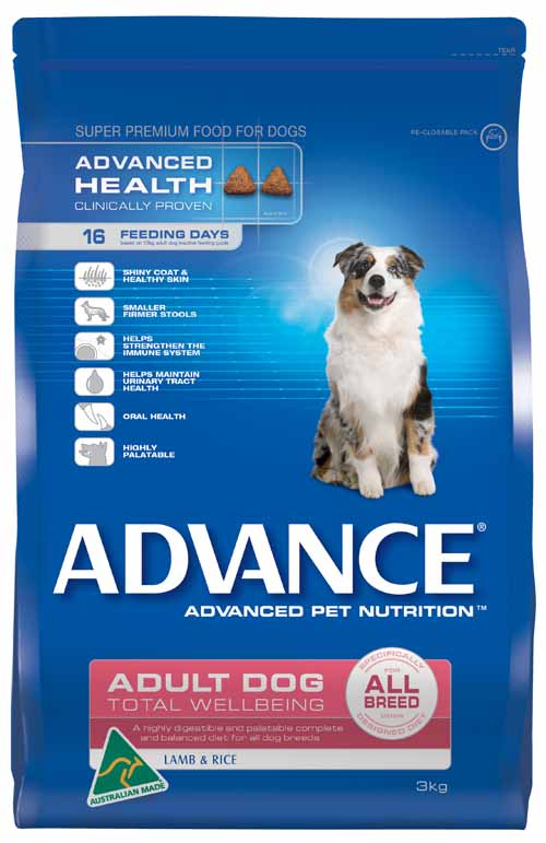 ADVANCE LAMB AND RICE ALL BREED 3KG
