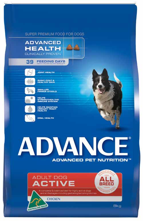 ADVANCE ACTIVE ALL BREEED 8KG