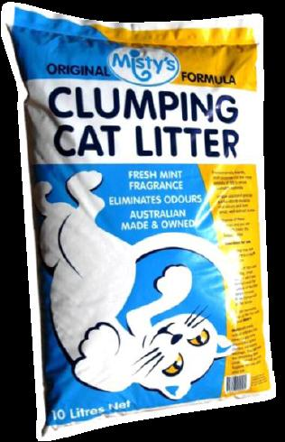 MISTYS CAT LITTER