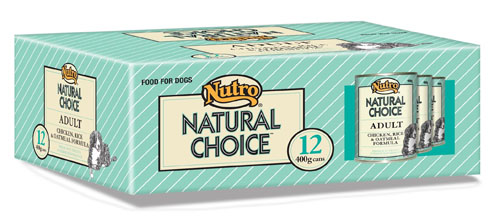 NUTRO DOG CHICKEN 400 X12 PACK